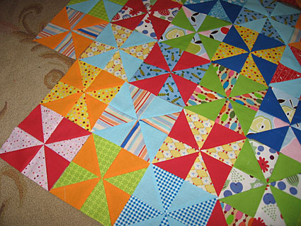 Hugs & Kisses Baby Quilt Pattern